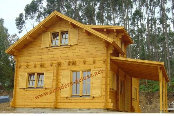 Cabañas de madera en Amadera Deluxe 141
