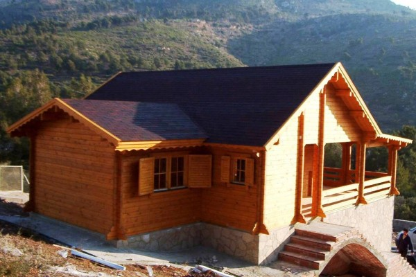 Cabañas de madera en Amadera Deluxe 142