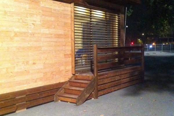 Cabañas de madera en Antoni Camarasa 298