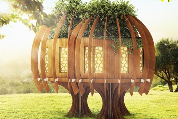 Cabañas de madera en Blue Forest 5286