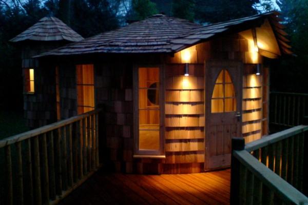 Cabañas de madera en Blue Forest 5293