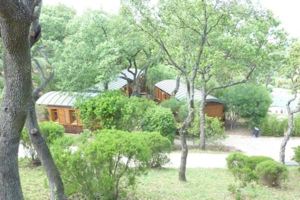 Cabañas de madera en Casa Alternativa 6191
