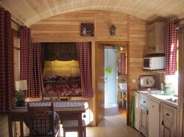 Cabañas de madera en Casa Alternativa 6193