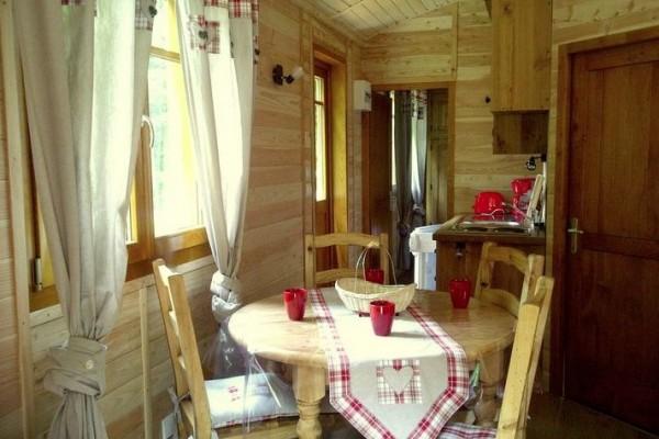 Cabañas de madera en Casa Alternativa 6194
