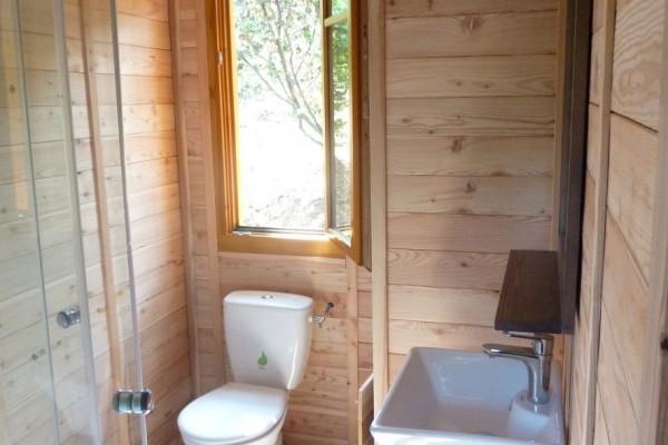Cabañas de madera en Casa Alternativa 6195