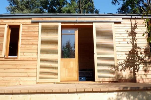 Cabañas de madera en Casa Alternativa 6179
