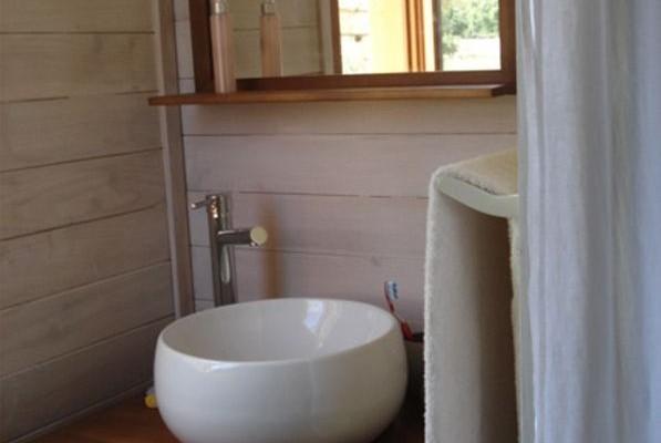 Cabañas de madera en Casa Alternativa 6183