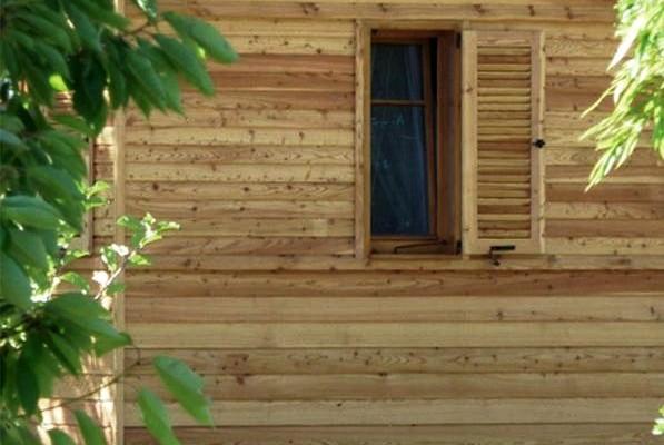 Cabañas de madera en Casa Alternativa 6184