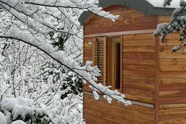 Cabañas de madera en Casa Alternativa 6186