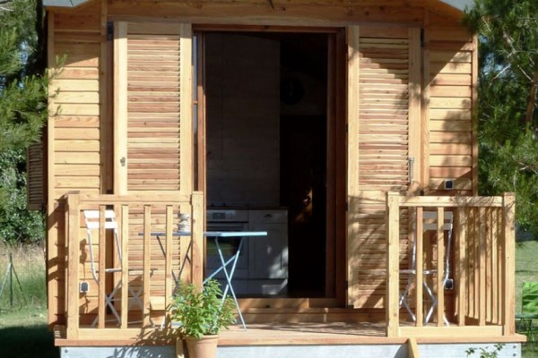 Cabañas de madera en Casa Alternativa 6178