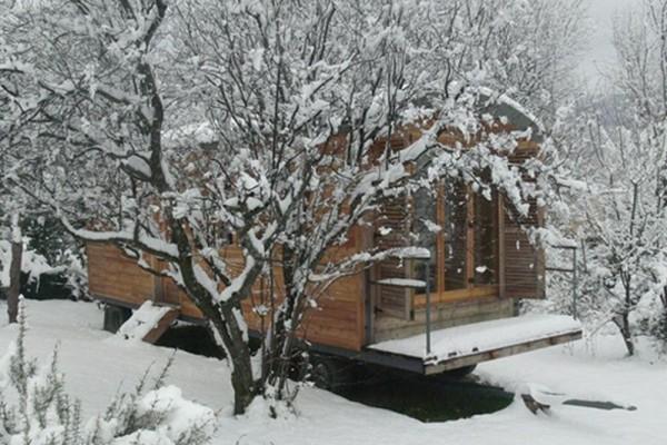 Cabañas de madera en Casa Alternativa 6187