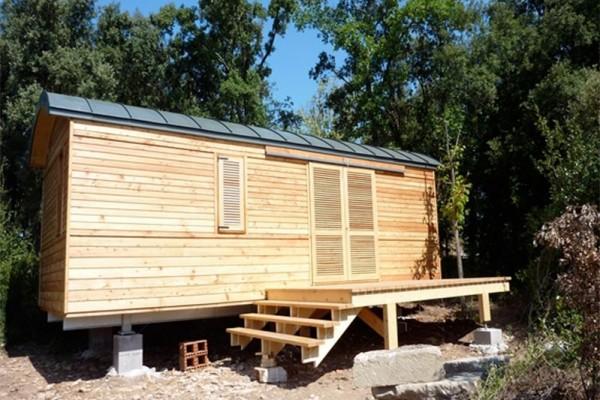 Cabañas de madera en Casa Alternativa 6188