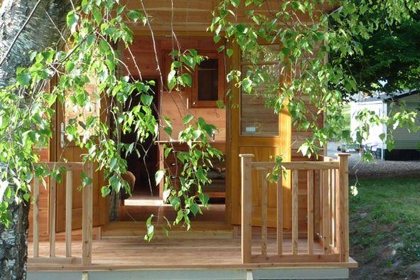 Cabañas de madera en Casa Alternativa 6189
