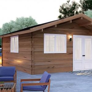 Donacasa viviendu for Cabanas de madera baratas
