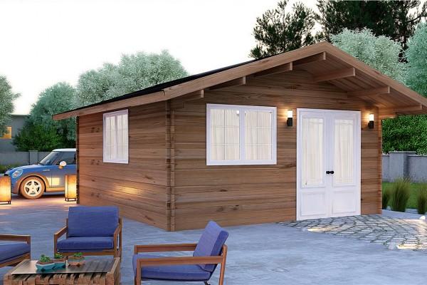 Imagenes de cabaas de madera cabaa de metros cuadrados - Opiniones donacasa ...