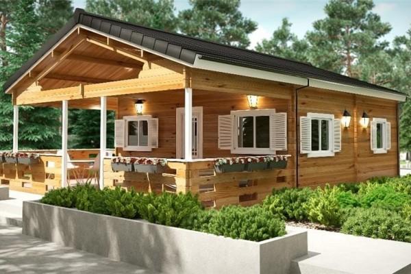 Cabañas de madera en Donacasa 782