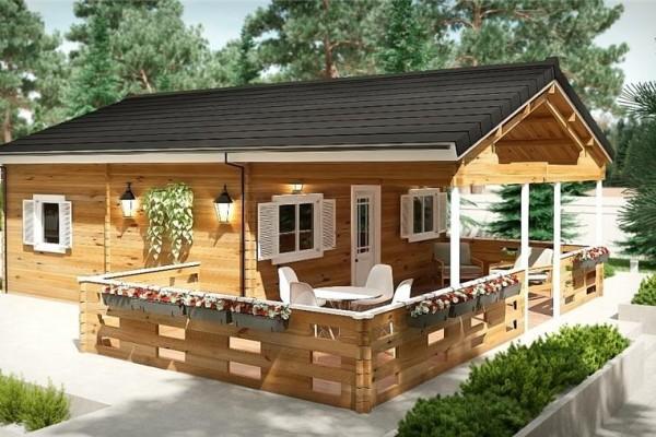 Cabañas de madera en Donacasa 785