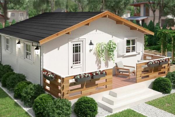 Cabañas de madera en Donacasa 786