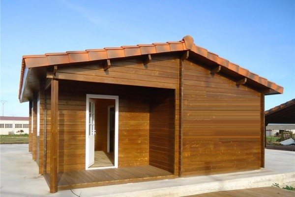 Cabañas de madera en Donacasa 787