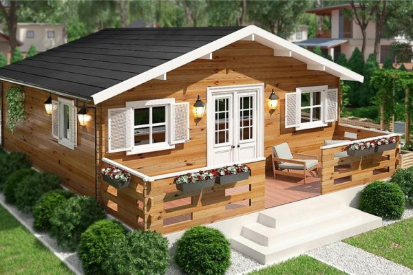 Cabañas de madera en Donacasa 788