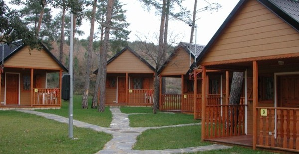 Cabañas de madera en Euro Bungalow 2908