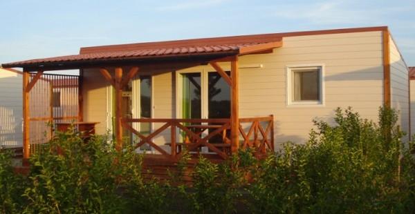 Cabañas de madera en Euro Bungalow 2919