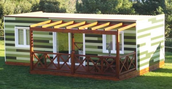 Cabañas de madera en Euro Bungalow 2921