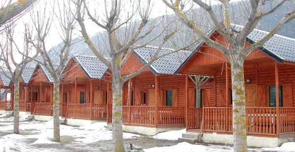Cabañas de madera en Euro Bungalow 2901