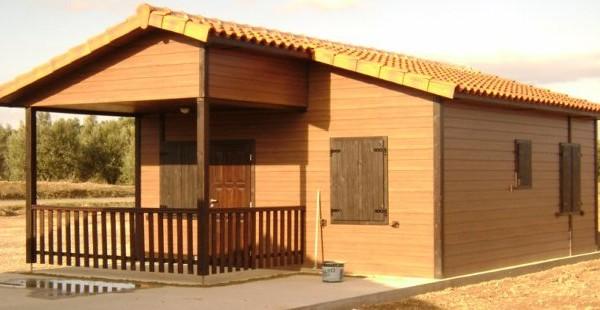 Cabañas de madera en Euro Bungalow 2902