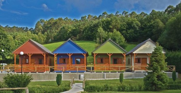 Cabañas de madera en Euro Bungalow 2899