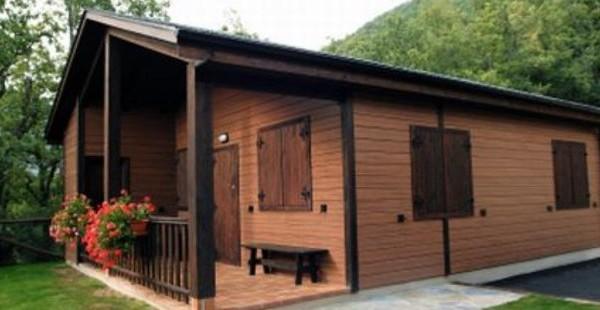 Cabañas de madera en Euro Bungalow 2906