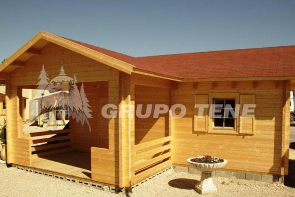 Cabañas de madera en Grupo Tene 4201