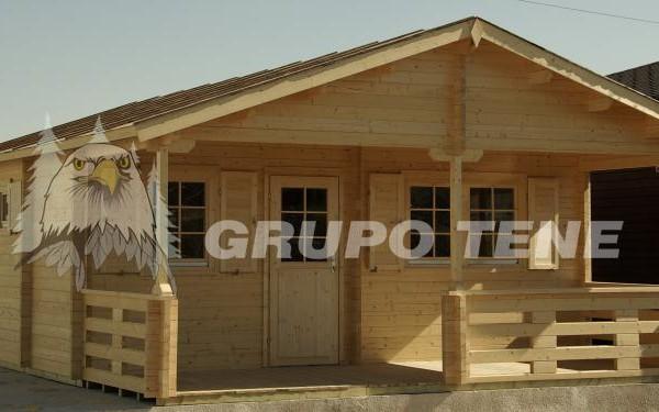 Cabañas de madera en Grupo Tene 4202