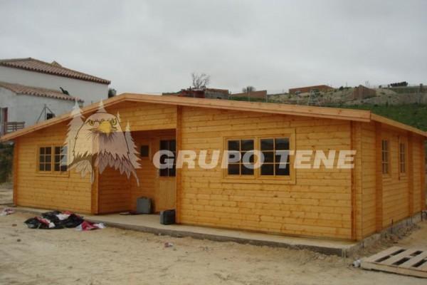 Cabañas de madera en Grupo Tene 4203