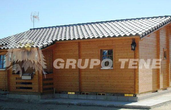 Cabañas de madera en Grupo Tene 4205