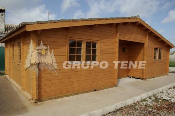 Cabañas de madera en Grupo Tene 4207
