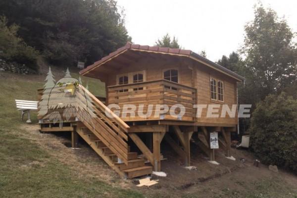 Cabañas de madera en Grupo Tene 4208