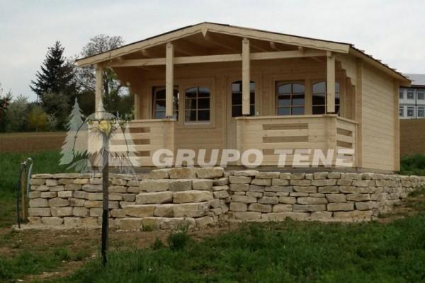 Cabañas de madera en Grupo Tene 4195