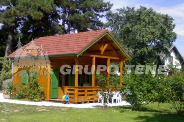 Cabañas de madera en Grupo Tene 4196