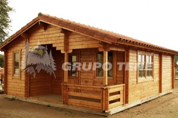 Cabañas de madera en Grupo Tene 4197