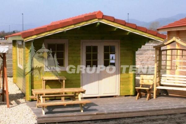 Cabañas de madera en Grupo Tene 4200