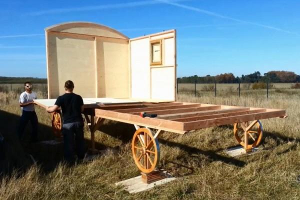 Cabañas de madera en Habitat Boheme 5970