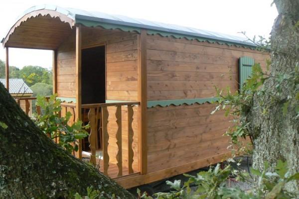 Cabañas de madera en Habitat Boheme 5977
