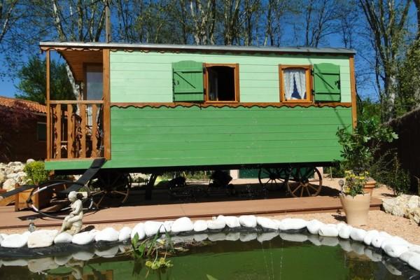 Cabañas de madera en Habitat Boheme 5981