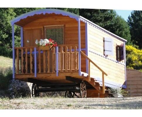 Cabañas de madera en Habitat Boheme 5961