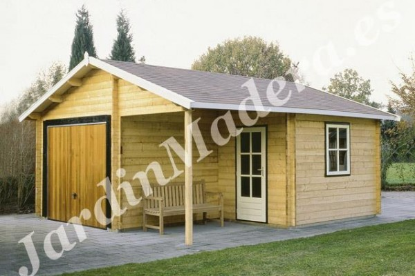Cabañas de madera en JardinMadera.es 4232