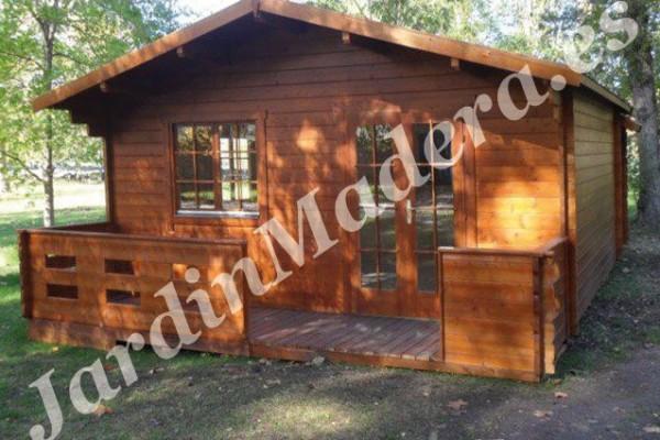 Cabañas de madera en JardinMadera.es 4233