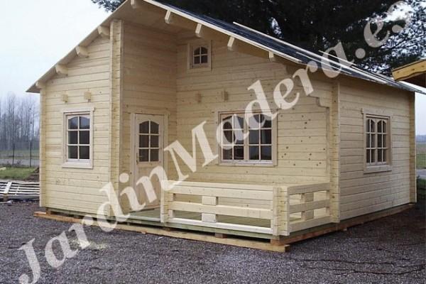 Cabañas de madera en JardinMadera.es 4234