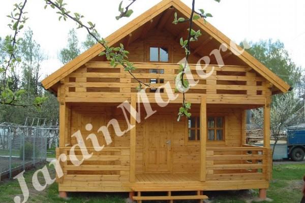 Cabañas de madera en JardinMadera.es 4235