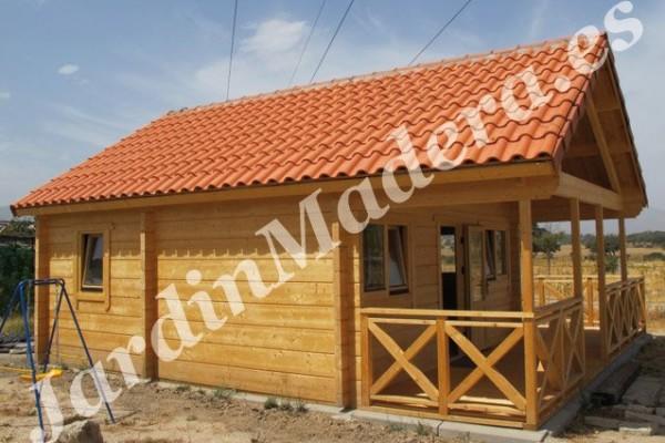 Cabañas de madera en JardinMadera.es 4237